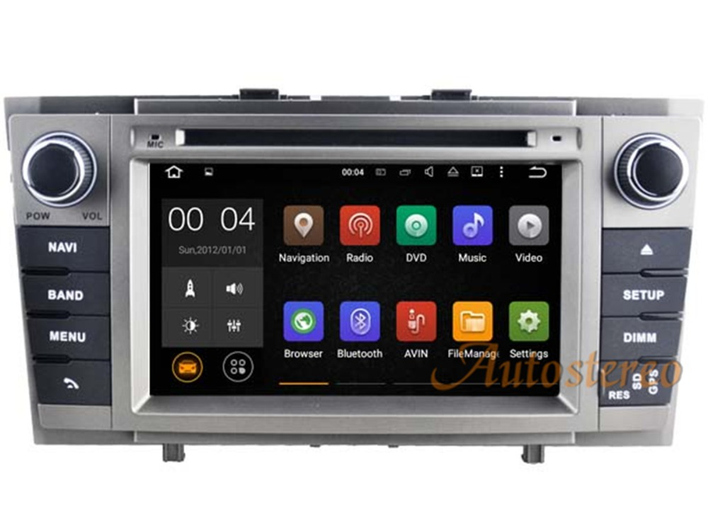 quad core android 5 1 7 1 car dvd player autoradio for. Black Bedroom Furniture Sets. Home Design Ideas