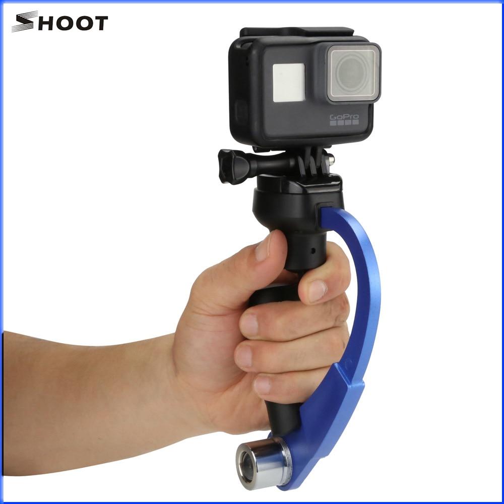 SHOOT XTGP205 hand hold stabilizer Aluminum Alloy Ligweight Stabilizer for SJCAM SJ4000 Gopro5 4 3+ HERO5 Session Yi