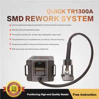 Original TR1300A intelligent hot air soldering station mobile phone repair hot air gun demolition welding 1300W rework station