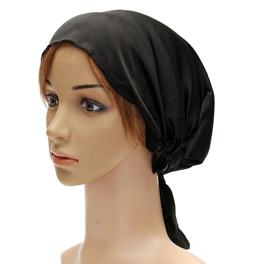 100% Silk Satin Headscarf Pure Silk Fabric Home And Outdoor Usage