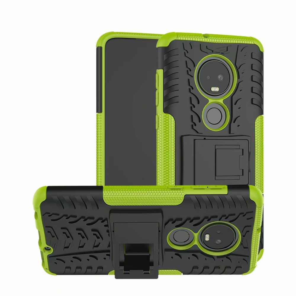For Motorola Moto G7 Case Rubber Anti-Knock Heavy Duty Hybrid Protective Phone Cover Coque For Moto G7 Capa Holder