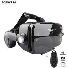2017 BOBOVR Z4 (4.0 Версия) Google картон VR КОРОБКА с Наушников VR Виртуальная Реальность 3D Очки Для 4.0-6.0 дюймов Смартфон