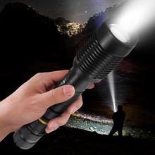 Portable High Bright LED Torch Aluminum Alloy Flashlight For Camping Emergency Hunting