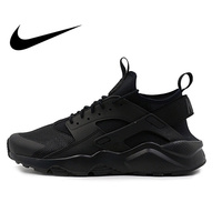 Original NIKE AIR HUARACHE RUN ULTRA Men's Breathable Running Shoes Sneakers Classic Tennis Shoes Outdoor Comfortable Durable