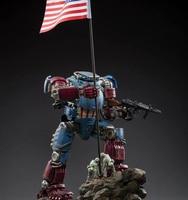 JOY TOY 1:25 action figure robot Military figure robot M75 MECHA pioneer model doll Mecha high 27CM Free shipping