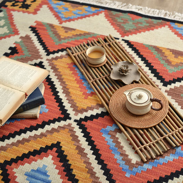 Aliexpress.com : Buy Kilim 100% Wool Handmade Carpet