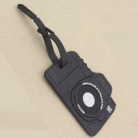 Luggage Tags Portable Secure Travel Kit Suitcase ID Black Camera Luggage tag Handbag Tote Bag Large Tag Travel Accessories Travel Accessories