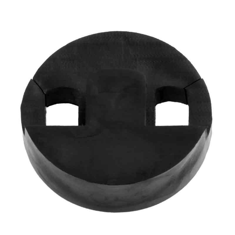 35x35mm גומי להתאים אקוסטית צ 'לו Violoncel עמיד סיבוב מעגלי גומי עיצוב צ' לו משתיק צ 'לו עיסוק השתקת משתיק