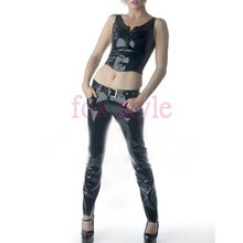 latex jeans trouser for ladies