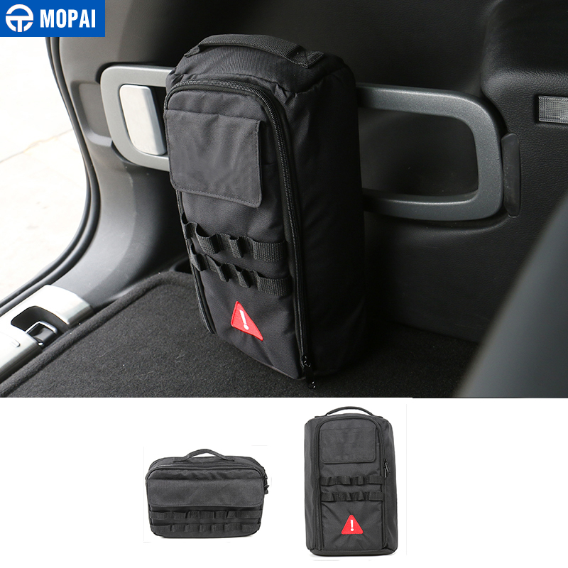 MOPAI Car Accessories Outdoor Sports Travel Camping Home Tool Kit Storage Bags for Jeep Wrangler