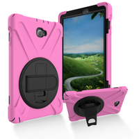 Silicone Tablet Covers 10.1 Sleeve For Samsung TabA 10.1 P580 with SPen 360 Degrees Rotating Bracket