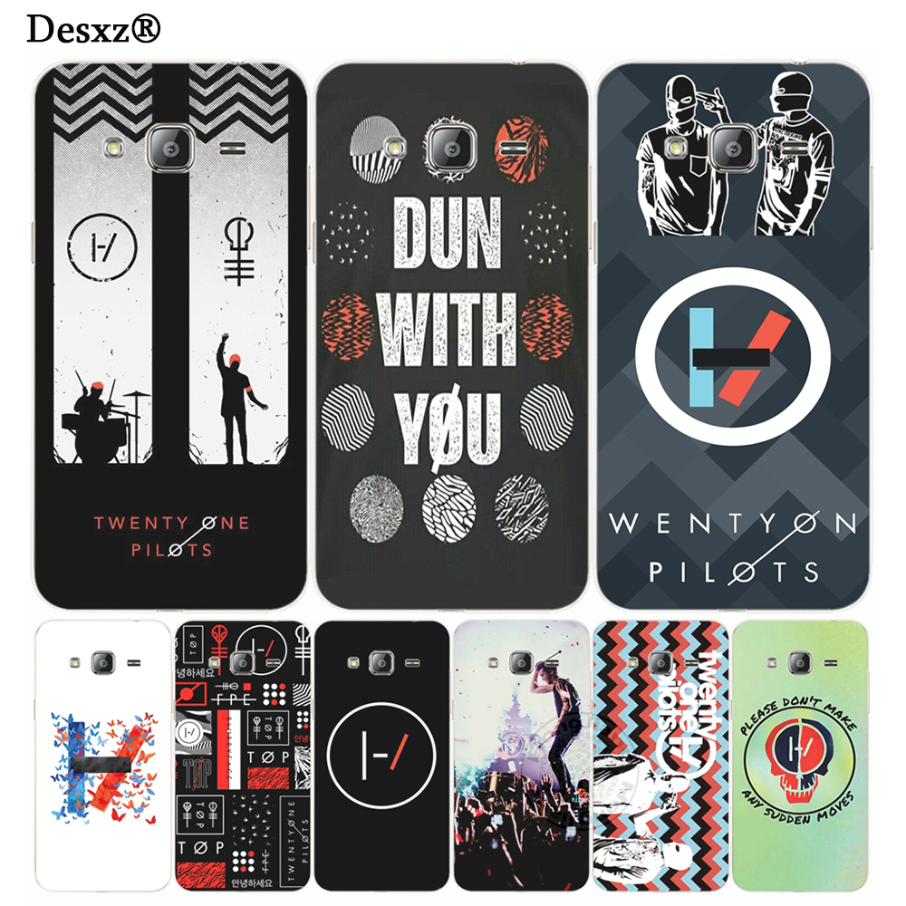 Desxz <font><b>Twenty</b></font> <font><b>One</b></font> <font><b>Pilots</b></font> 21 cover <font><b>phone</b></font> <font><b>case</b></font> for Samsung Galaxy J1 J2 J3 J5 J7 MINI ACE 2017 2016 2015 j120 j200 j510 j710 j520