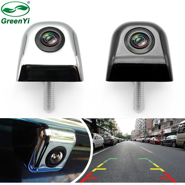 GreenYi 4 Layer Glass Lens Auto Night Vision Reverse Backup Camera Car CCD Rear View Camera For Car DVD Parking Monitor