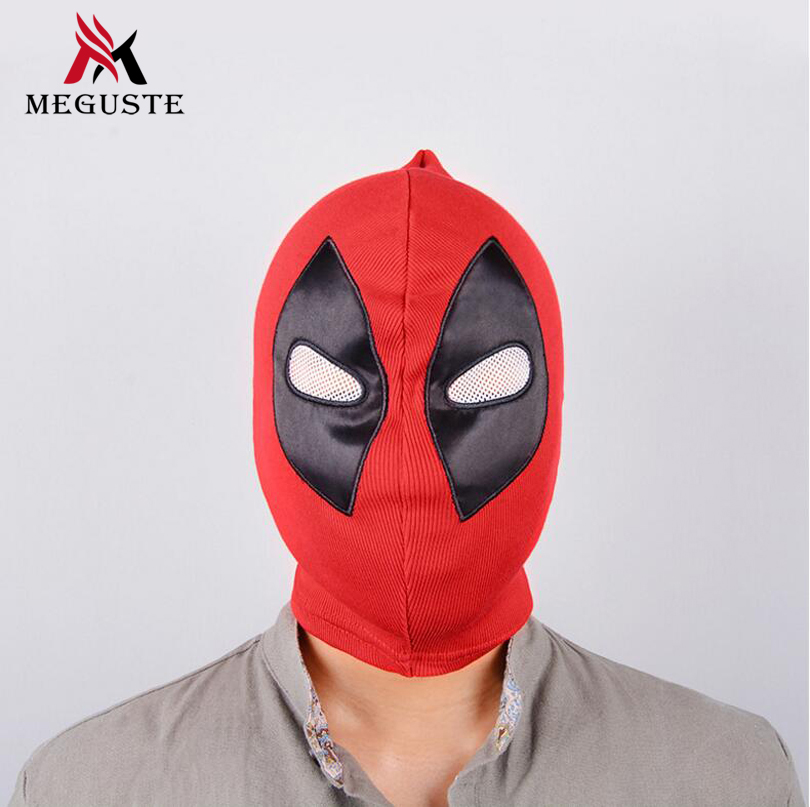 Meguste Deadpool Masks Balaclava Halloween Cosplay.red bivakmuts cosplay.