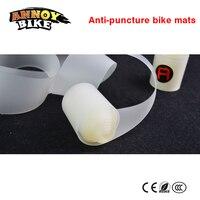 1 set/2 pcs anti-puncture 자전거 매트 보호 바퀴 스포크 내부 타이어 자전거 타이어 나일론 림 보호 테이프 26