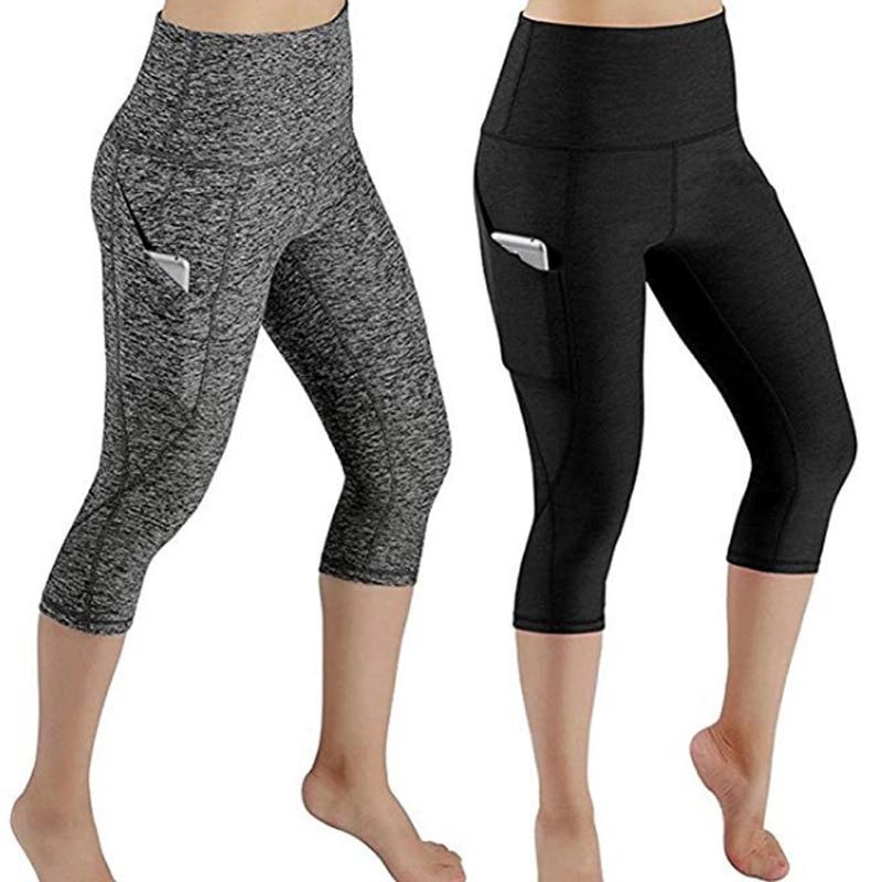 LAISIYI New Womens Full Length Cotton   Leggings   Hight Waist Solid Bottom   Leggings   Wholesale Plus Size Gym Girl leggins