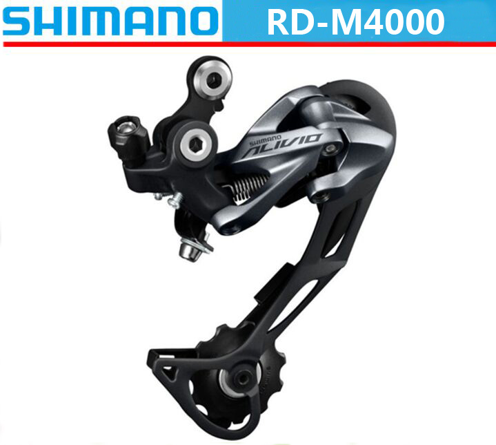 SHIMANO ALIVIO RD M4000 Derailleur 9 Speed RD-M4000 Rear 3s*9s 27s Speed Accessory Shifter shift Mountain MTB Bike Bicycle Parts цена