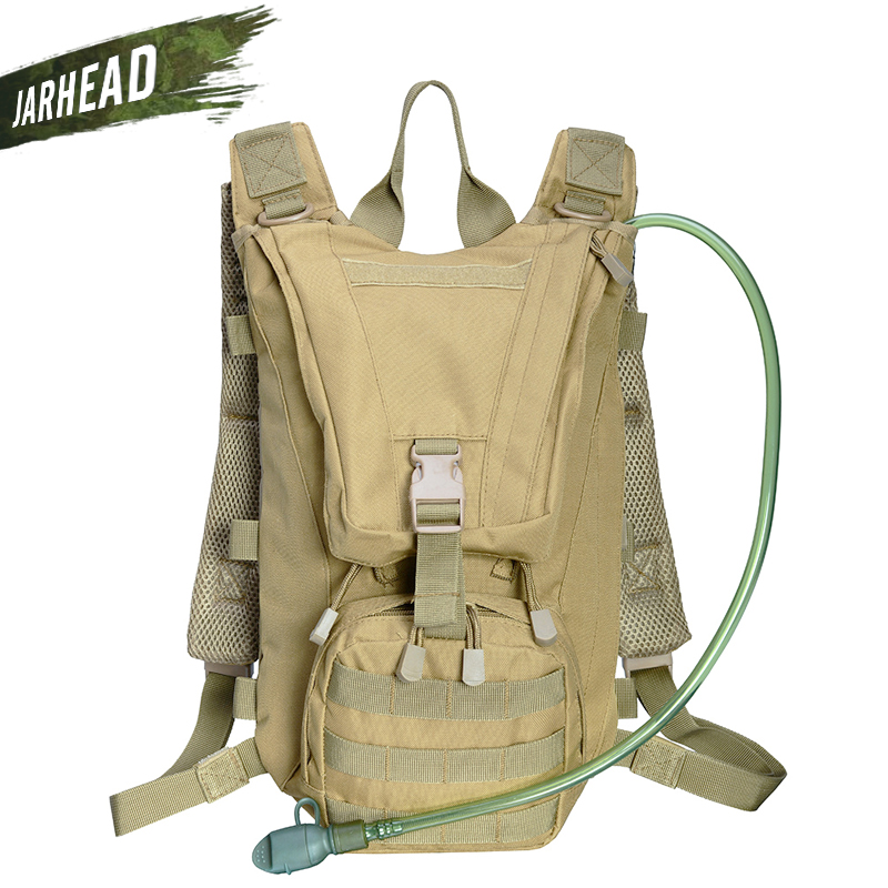018faaaf060 2.5L Outdoor Backpack Molle Military Tactical Hydrator Pouch Cycling Water  Bag Camping Camelback Hiking Oxford