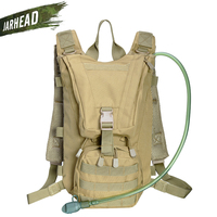 2.5L Outdoor Backpack Molle Military Tactical Hydrator Pouch Cycling Water Bag Camping Camelback Hiking Oxford Camel Bag Cycling
