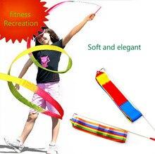 Adults and children dance props artistic gymnastics performance match Ribbon Ribbon Ribbon square dance activities Dance Ribbon боди ribbon ribbon mp002xw1gm9p
