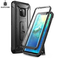 Huawei Mate 20 Pro LYA L29 SUPCASE UB Pro ağır tam vücut sağlam kılıf dahili ekran koruyucu ve Kickstand