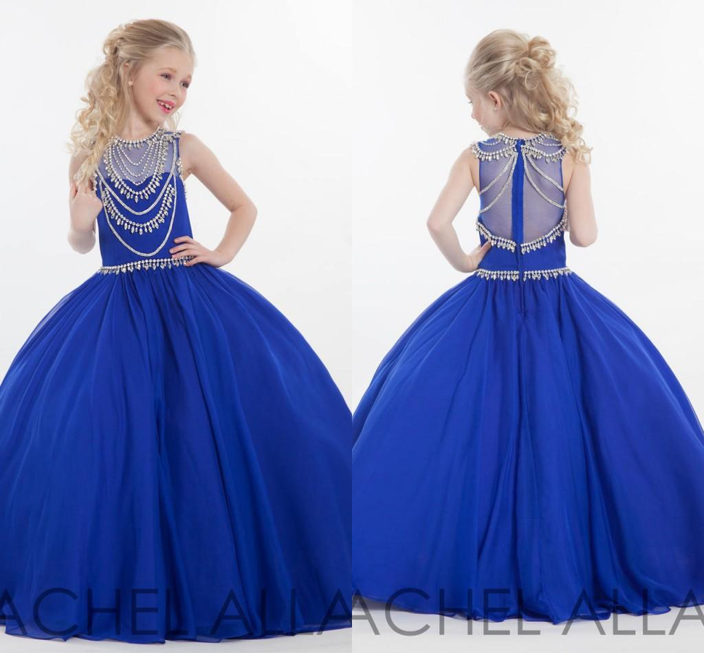 Online Buy Wholesale royal blue flower girl dresses from China ...