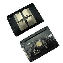 "4 SD RAID на SATA адаптер SATA 2,"" HDD кронштейн с RAID Quad SD SDHC SDXC на SATA 22pin конвертер"