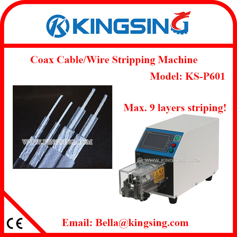 Kingsing Brand New 2017 Best Coaxial Cable Wire Stripping Machine KS ...