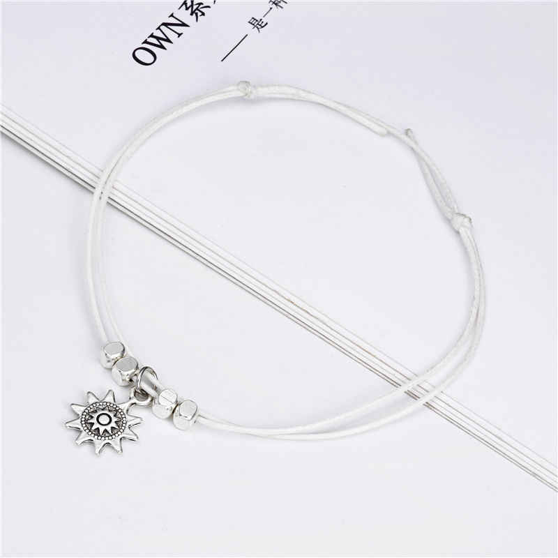 2018 new fashion ankle for women exquisite jewelry anklet beach accessories top quality alloy elephant sun pendant ns51