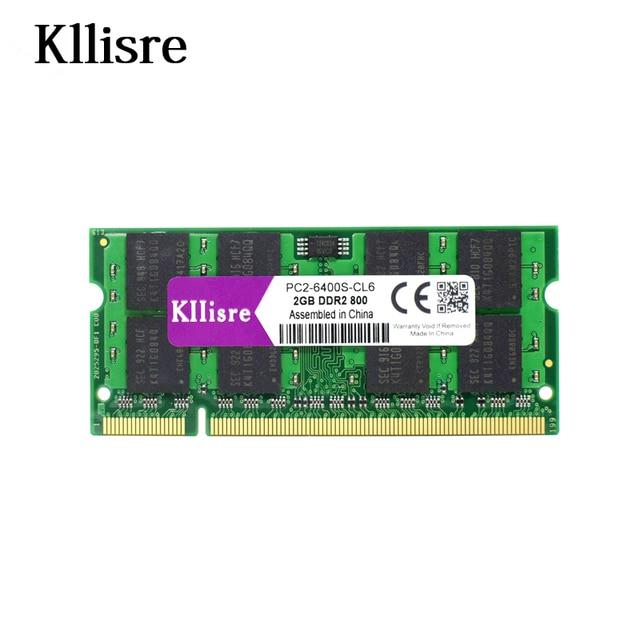 Kllisre 2 ГБ DDR2 PC2-6400 800 мГц 200pin памяти ноутбука SO-DIMM ноутбук Оперативная память