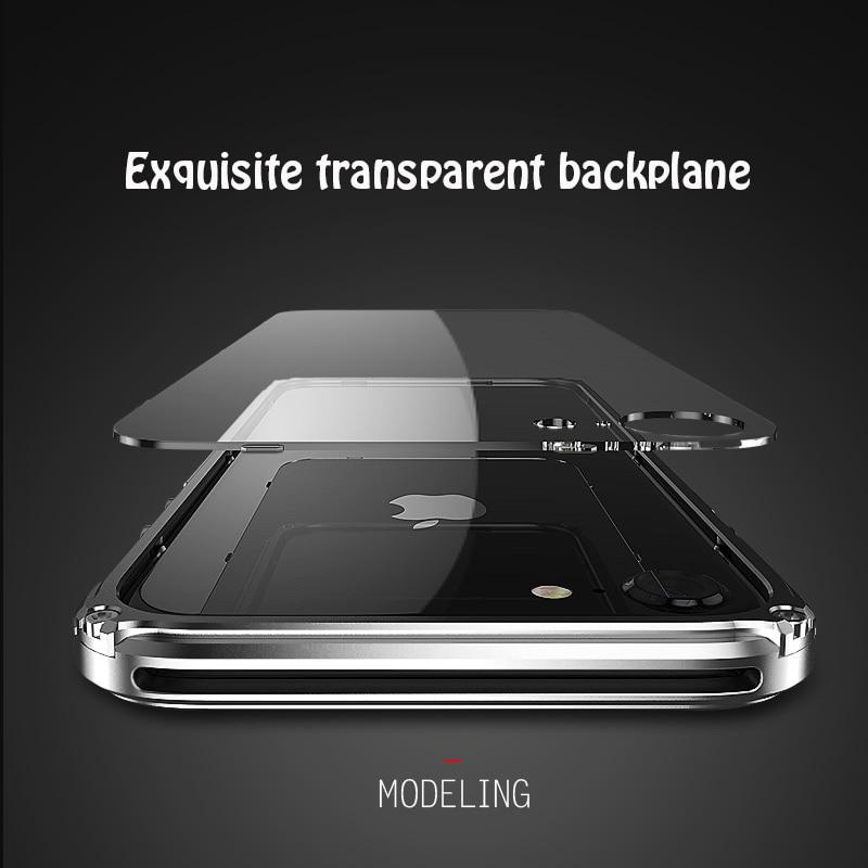 Цена за Ginmic Марка крышка для iPhone 7 чехол для телефона алюминиевая рама + прозрачный Межэтажные гибридные Чехлы для iPhone 7 Металл противоударный
