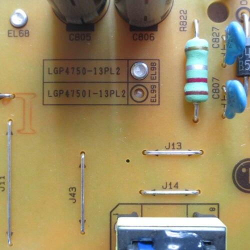 Nueva placa de alimentación original EAX64905501 LGP4750-13PL2 LG 47LN5454_CT