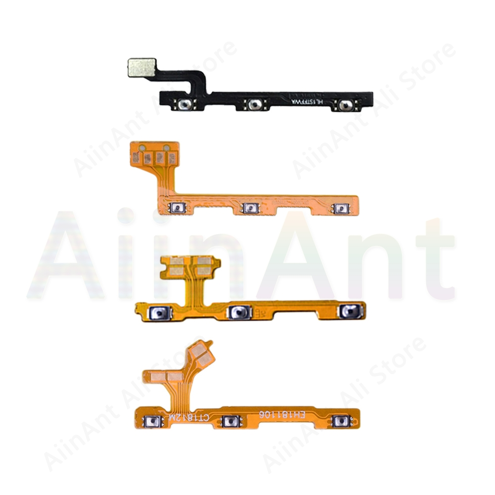 Video Volume On OFF Button Power Flex Cable For Huawei Honor 7 7X 8A 8 8c 8x 9i 9 10 20 20i Pro Lite Power Flex