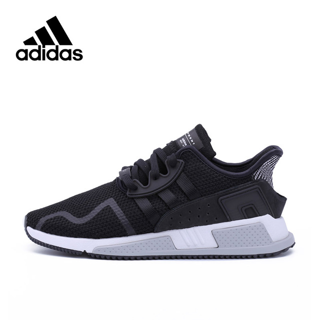 more photos 4e7a3 3d1ca US $341.19 32% OFF|Official Original Adidas Originlas EQT Cushion ADV  Breathable Men's Running Shoes Sports Sneakers Comfortable Stability  BY9506-in ...