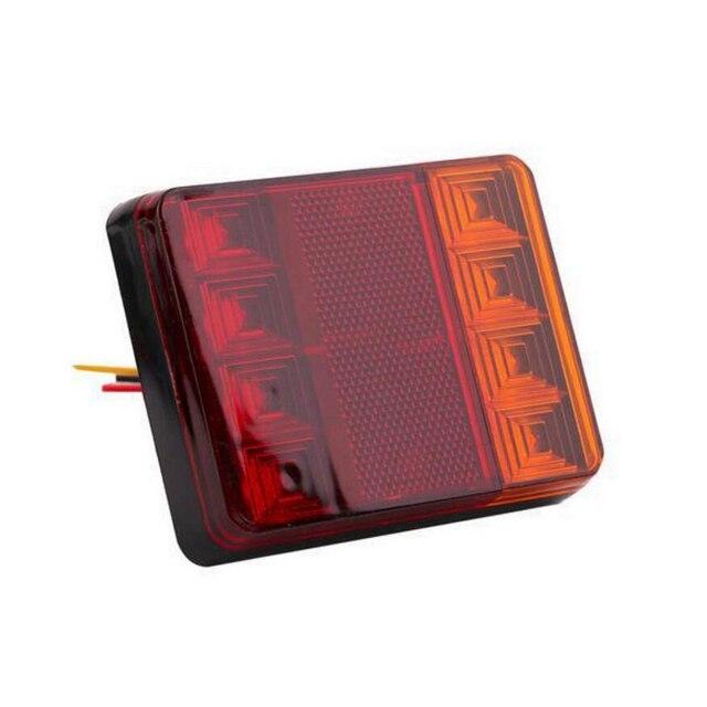 2 Stücke Wasserdichte Auto 8 LED Rücklicht Lampen Pair Bootsanhänger ...
