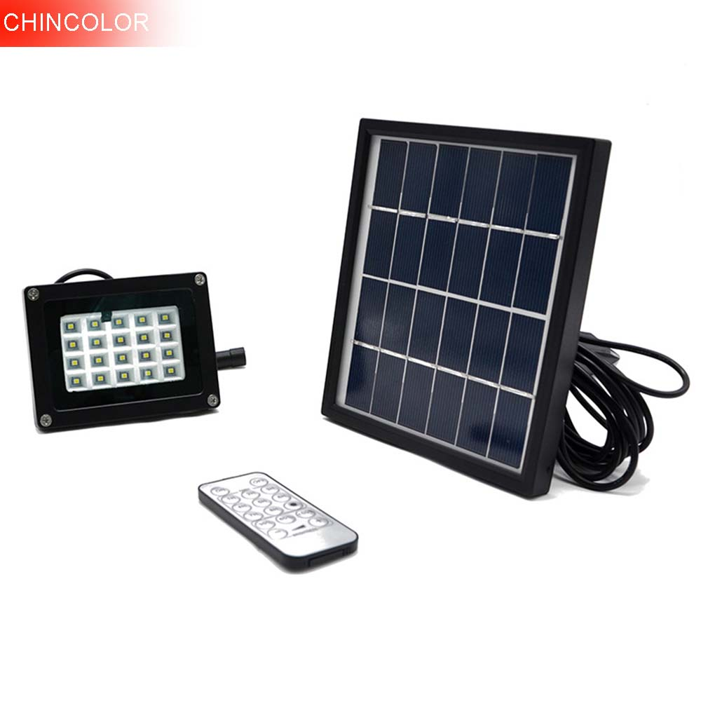 2017 Led Solar Lamp Remote control Garden Lawn Lights Outdoor Infrared Sensor Light 20 LED Solar Motion Detection Wall Light CA