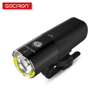 Gaciron Bicycle Headlight Bike LED Lamp Front Light 1000 Lumens 4500 Battery Rechargeable Power Bank Bicycle