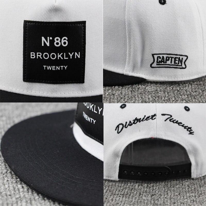 04a93d941 2018 Fashion Men Womens BROOKLYN Letters Solid Color Patch Baseball Cap Hip  Hop Caps Leather Sun Hat Snapback Hats brooklyn N86