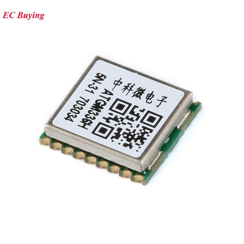 Gps-модуль GP02 PCB IOT для спутникового определения местоположения, GPS + BDS компас atgm33h, серия GPRS, IOT, GP-02