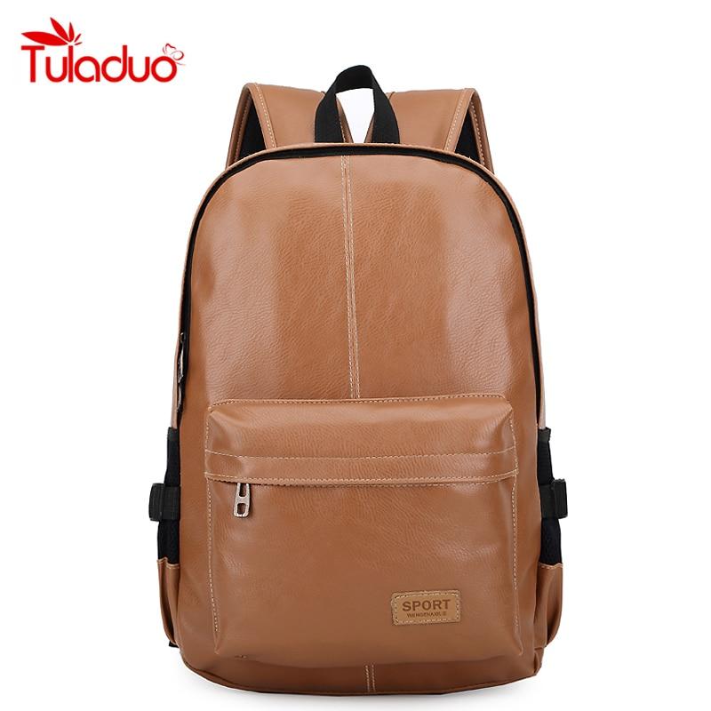 85de32cca8742 2018 أعلى جودة حقائب ماركة أزياء الرجال blackleather المدرسية الحاسوب سفر  أسلوب preppy البني المرأة حقيبة bolsas