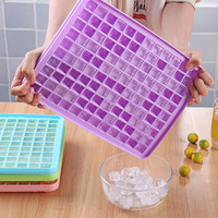 120 Grids DIY Creative Small Ice Cube Mold Square Shape Silicone Ice Tray Fruit Ice Cube