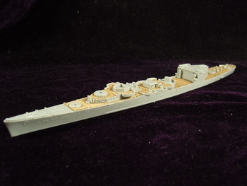 Trumpeter model ARTWOX 05742 New Orleans American CA-32/1942 wood deck AW20074