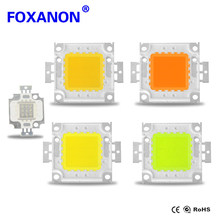 Foxanon 1W 3W LED Spotlight Bulb 10W 20W 30W 50W 100W High Power integrated LEDs lamp Chip COB SMD Diodes For Flood light(China)