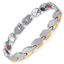 2019 Hot Sale Magnetic Therapy Relief Arthritis Bangles Bracelets for Women Vintage Adjustable Cuff Bangle