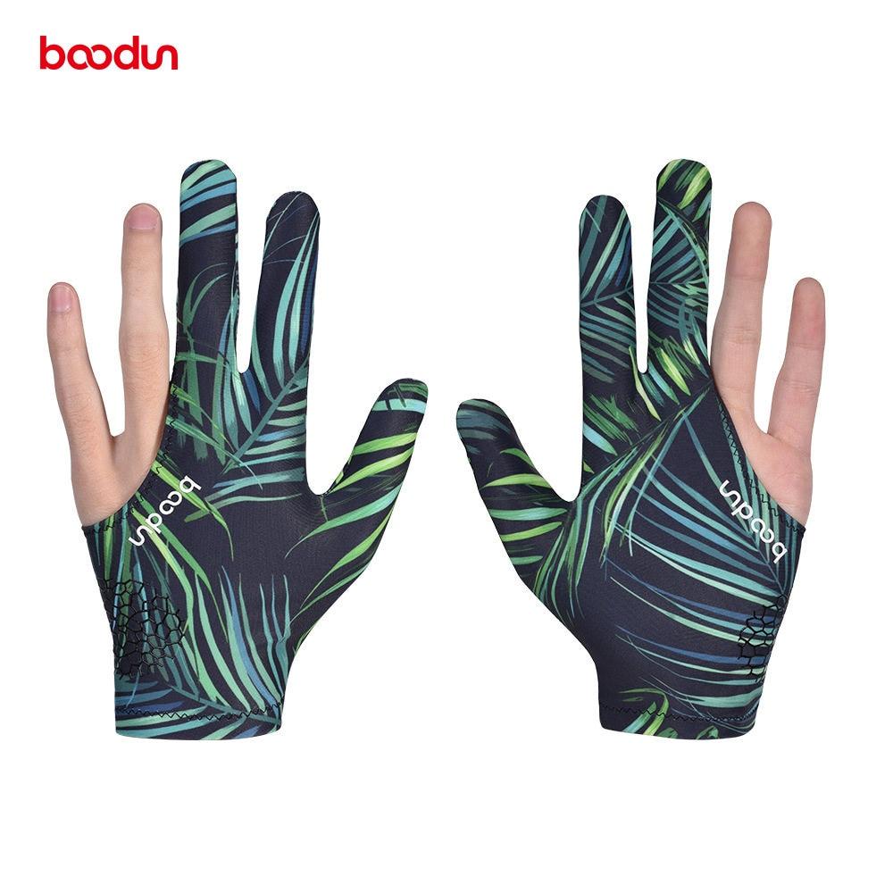 Boodun 1 PCS Cue Billiard Pool Shooters 3 Fingers Gloves Billiard Gloves Snooker Gloves Left And Right Hand Billiard Accessories