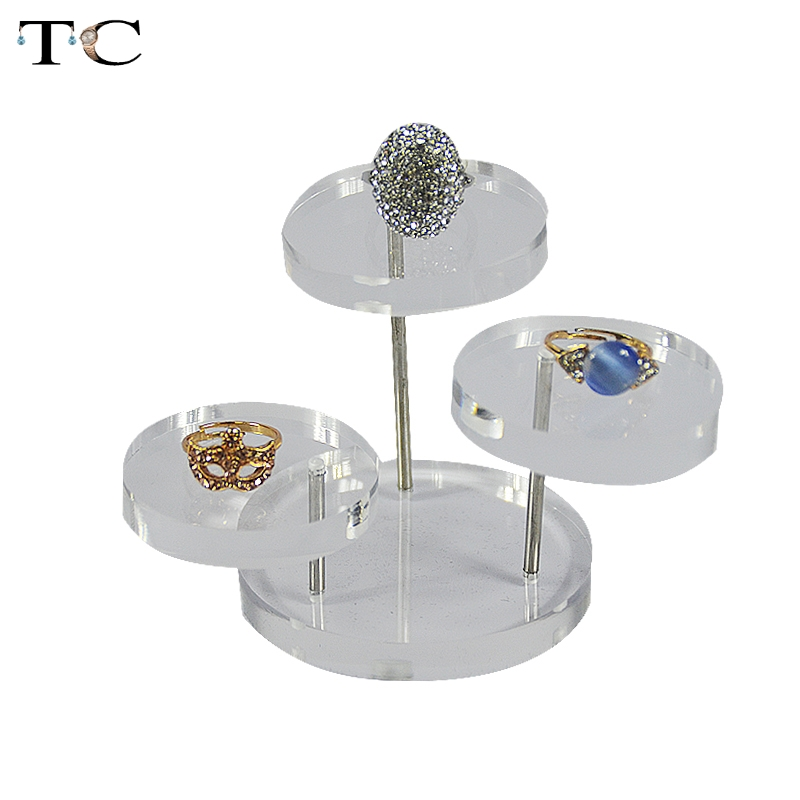 Free Shipping Design Jewelry Organizer Jewelry Display Stand Clear 3