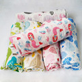 Ребенок муслин одеяло ребенка пеленать Мультфильм Ситец Детское Одеяло Мягкий Дышащий Для Новорожденных