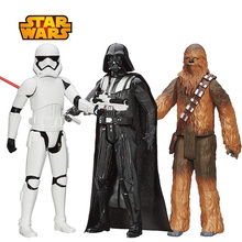 30cm gwiezdne wojny Flametrooper Chewbacca szturmowiec Darth Vader Kylo Ren Finn figurka prezent zabawka dla kolekcja dla dzieci lalka
