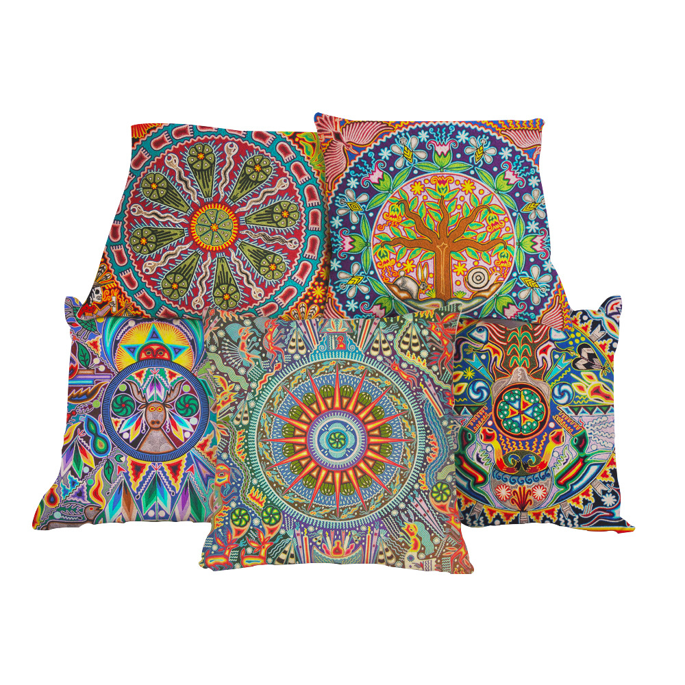 2019 Bohemian Ethnic Pattern Pillow Case Printing Geometric Sofa Throw Pillowcase Pillow Cover Bedroom Decoration Home