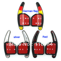 NEW!! 1Pairs Steering Wheel DSG Direct Shift Gear Paddle Extension Gear Switch A3 A4L A5 A6 A7 A8 S5 Q5 Q7 TT